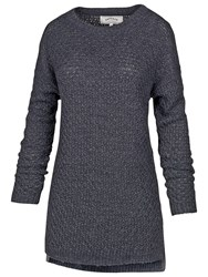 Fat Face Haywood Knitted Tunic Indigo
