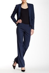 Hugo Boss Tilana Wool Blend Pant Blue
