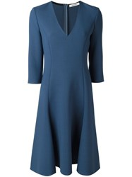 Dorothee Schumacher 'Cool Content' Dress Blue