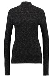 Scotch And Soda Long Sleeved Top Anthracite Melange Grey