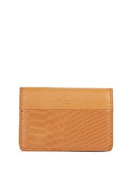 Liebeskind Textured Leather Wallet Dark Grey