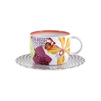 Missoni Home Flowers Teacup And Saucer Set Of 2