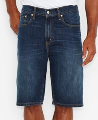 Levi's Men's Big And Tall 569 Loose Straight Fit Stretch Denim Shorts Homespun Rinse