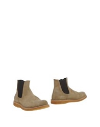 Punto Pigro Ankle Boots Cocoa