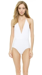 Rachel Pally Bridget Maillot White