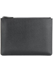 Common Projects Small Clutch Calf Leather Black
