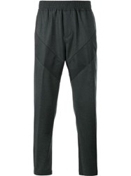 Givenchy Stripe Accent Track Pants Grey