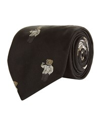 Polo Ralph Lauren Bear Tie Black