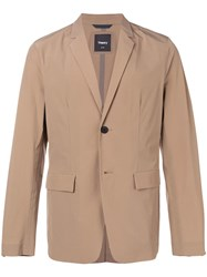 Theory Classic Single Breasted Blazer Neutrals