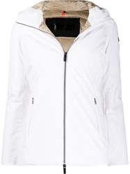 Rrd Hooded Down Jacket White