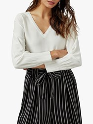 Ted Baker Lornini Knit Top White