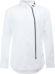 Craig Green Lace Detail Shirt White