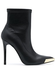 Versace Jeans Couture Pull On Stiletto Ankle Boots 60