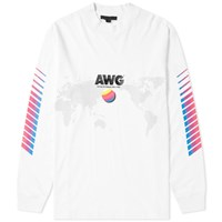 Alexander Wang Awg Corporate Crew Sweat White