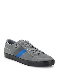 Original Penguin Suede Lace Up Sneakers Grey