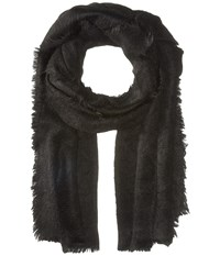 Free People Koda Brushed Scarf Black Scarves