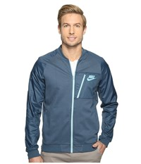 Nike Sportswear Advance 15 Fleece Full Zip Jacket Squadron Blue Mica Blue Mica Blue Men's Coat