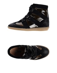 Manas Design Manas High Tops And Trainers Black