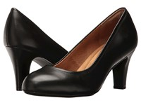 Sofft Turin Black Cow Quilin High Heels