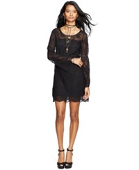 Denim And Supply Ralph Lauren Lace Bell Sleeve Dress