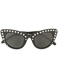 N 21 No21 Embellished Cat Eye Sunglasses Black