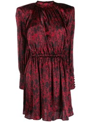 Federica Tosi Patterned Dress Red