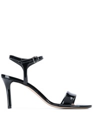 Marc Ellis Glass Slingback Sandals Black