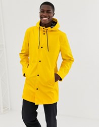 Only And Sons Rain Coat Yellow