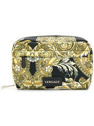 Versace Baroccoflage Make Up Bag Black