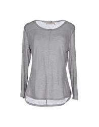 J Brand Topwear T Shirts Women Light Grey