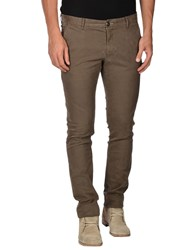 One Seven Two Trousers Casual Trousers Men Military Green