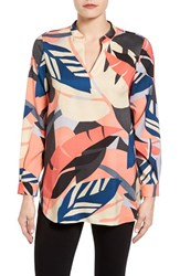 Vince Camuto Women's Modern Tropics Tunic Blouse