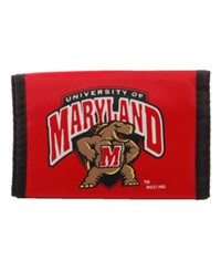 Rico Industries Maryland Terrapins Nylon Wallet Team Color