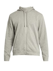 A.P.C. X Outdoor Voices Champion Hooded Performance Sweatshirt Grey