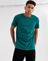 Tom Tailor Basic T Shirt Green
