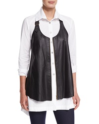 Xcvi Upstage Perforated Leather Vest