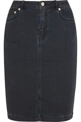 Blk Dnm 14 Denim Skirt
