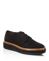 Vince Tanner Platform Lace Up Oxfords Black