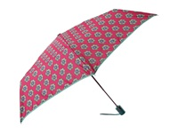 Vera Bradley Umbrella Pink Swirls Flowers Umbrella Red
