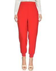 Aniye By Casual Pants Red