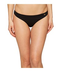 Emporio Armani Seaworld Eagle Studs Brazilian Brief Nero Black Women's Swimwear