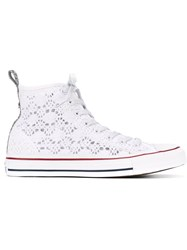 Converse Lace High Top Sneakers White