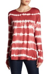 Sweet Romeo Long Sleeve Dolman Tee Red
