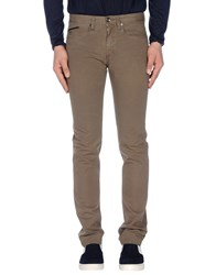 Henry Cotton's Trousers Casual Trousers Men Military Green