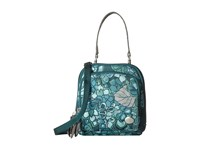 Haiku Pouch Hydrangea Print Cross Body Handbags Green