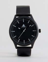 Asos Watch In Monochrome Black