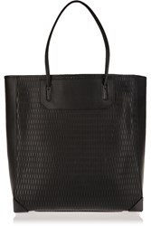 Alexander Wang Prisma Laser Cut Leather Tote Black