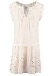 Noa Noa Posy Anglaise Summer Dress Light Mushroom Rose