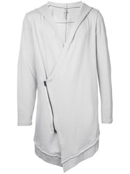 First Aid To The Injured Talus Cardigan Unisex Cotton 3 Grey