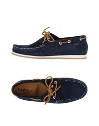 Byblos Footwear Moccasins Men Dark Blue
